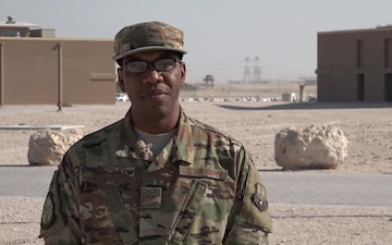 "Staff Sgt. Anthonio Hightower's Thanksgiving ""Shout Out"""