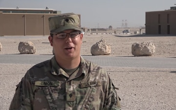 "Spc. Anthony Limon's Thanksgiving ""Shout Out"""