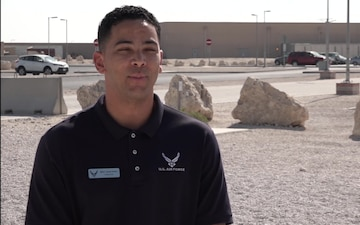 "Master Sgt. Jorge Nunez Gives a Thanksgiving ""Shout Out"""