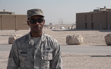 "Staff Sgt. Travell Whitaker's Thanksgiving ""Shout Out"""