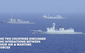 China-US PACOM Components discuss Air & Maritime Operations