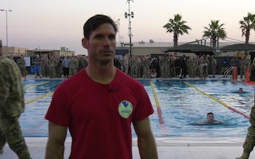 German Armed Forces Proficiency Badge Swim Event