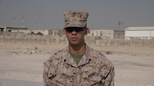 """Cpl. Ronald Nater's Thanksgiving """"Shout Out"""""""