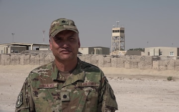 Lt. Col. Marc Gonsalves' Thanksgiving Day Shout Out