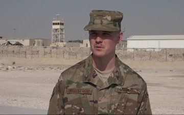 Airman 1st Class David Kellstrom's Thanksgiving Shout Out
