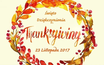 Happy Thanksgiving from the Battle Group Poland