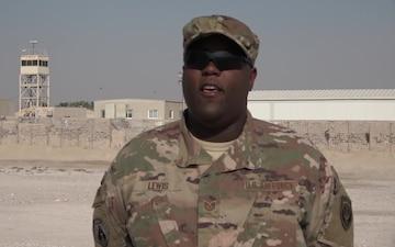 Tech. Sgt. James Lewis' Thanksgiving Shout Out