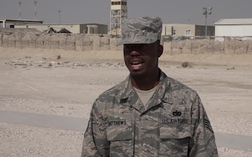 Staff Sgt. Derecus Matthews' Thanksgiving Shout Out