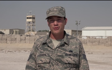 Staff Sgt. Anthony Pereda's Thanksgiving Shout Out