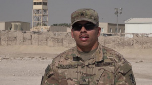 Sgt. Rafael Saucedo's Thanksgiving Shout Out