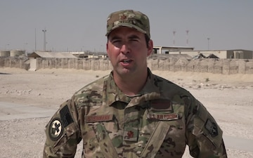 Major Aric Steinmann's Thanksgiving Shout Out