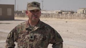 Lt. Col. Reggie Trujillo's Thanksgiving Shout Out