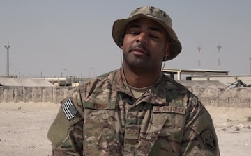 Staff Sgt. Maurice Young's Thanksgiving Shout Out