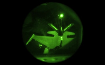 F-16 Fighting Falcon refueling over Afghanistan