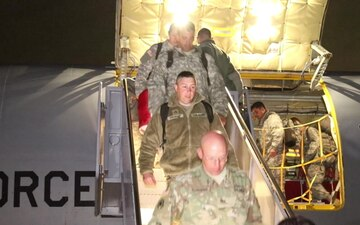 1483rd Transportation Company returns from Puerto Rico