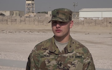 Staff Sgt. Donovan Hunt's Thanksgiving Shout Out