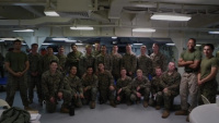 Happy Thanksgiving from the Marines and Sailors of the 15th MEU and America ARG