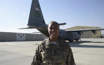 Tech. Sgt. Ceegee Keye Holiday Shout Outs-East Stroundsburg, PA