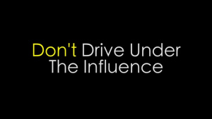 Driving Under the Influence: Don't Do it Team Andersen