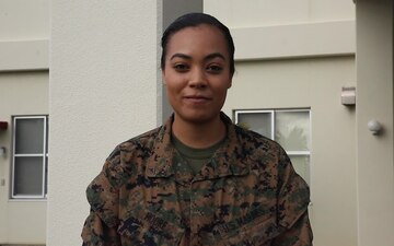 Lance Cpl. Jayla Moore Holiday Shout Out - ABC Good Morning America