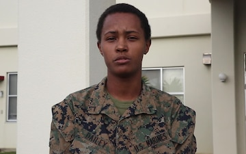 Pfc. Shaquira Dailey Holiday Shout Out