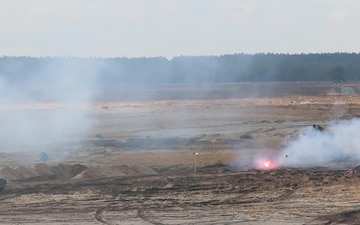 Polish, U.S. Soldiers Conduct Live-Fire Exercise