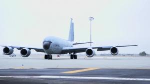 Fairchild launches KC-135 Stratotankers