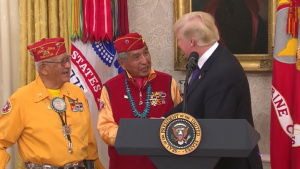 Navajo Code Talkers Honored at the White House