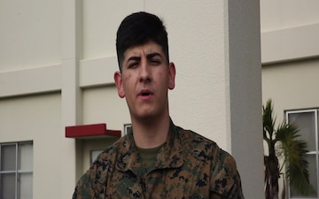 Pfc. Menahem Lopes Holiday Shout Out