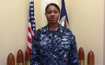 Hospital Corpsman 1st Class Shamace Phillips - Joint Base Charleston holiday shout outs