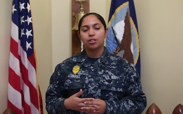 Hospital Corpsman Valery Alvarez - Joint Base Charleston holiday shout outs