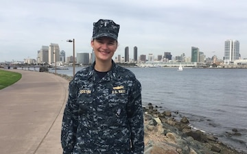 Lt. j.g. Emily Judstra, Holiday Greeting, Commander, Littoral Combat Ship Squadron ONE