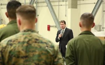 U.S. Ambassador to Japan tours Iwakuni, strengthens US-Japan alliance