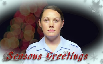 Holiday Greeting A1C Brianna Hogan