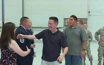 Command Chief Master Sergeant Chris Roper Retires