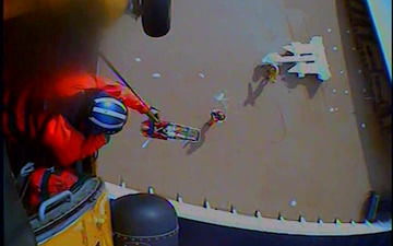 Coast Guard medevacs 33-year-old man from cruise ship 230 miles southwest of San Diego