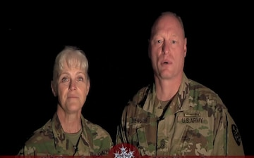 Holiday Greeting from the Army Reserve Medical Command Group