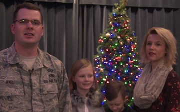 SSgt Brandon Hall holiday greeting