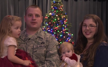 MSgt Matthew Sherman holiday greeting