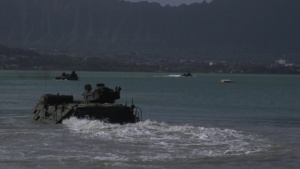 CAC Conducts Long Range Swim Training Exercise on Hawaii