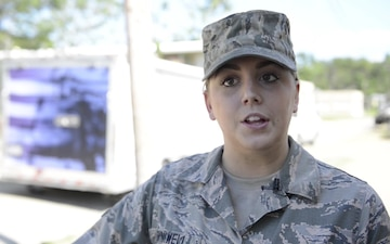 Interview: MNANG A1C Madison Bonniwell talks about her deployment to Puerto Rico in support of hurricane relief efforts