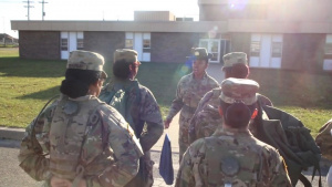 NJARNG First Female Drill Sergeant