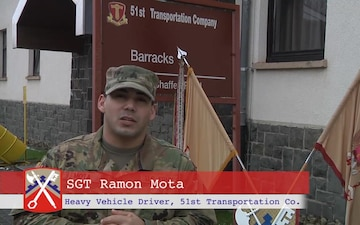 SGT Mota Sends Greetings to Family