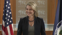 State Department Press Briefing with Spokesperson, Heather Nauert