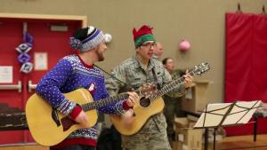 Alaska Guardsmen bring holiday cheer to St. Michael