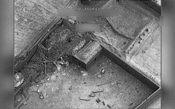 U.S. Navy F/A-18 Super Hornets conduct a strike on Taliban narcotics facilities