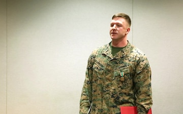 Navy and Marine Corps Achievement Medal Ceremony