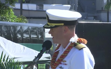 USS Oklahoma Memorial Ceremony