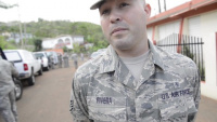 Interview in Spanish: PRANG SSGT Alex River Talks About His Experience During a Supply Mission in Orocovis