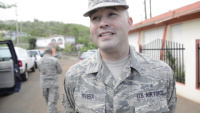 Interview in English: PRANG SSGT Alex River Talks About His Experience During a Supply Mission in Orocovis